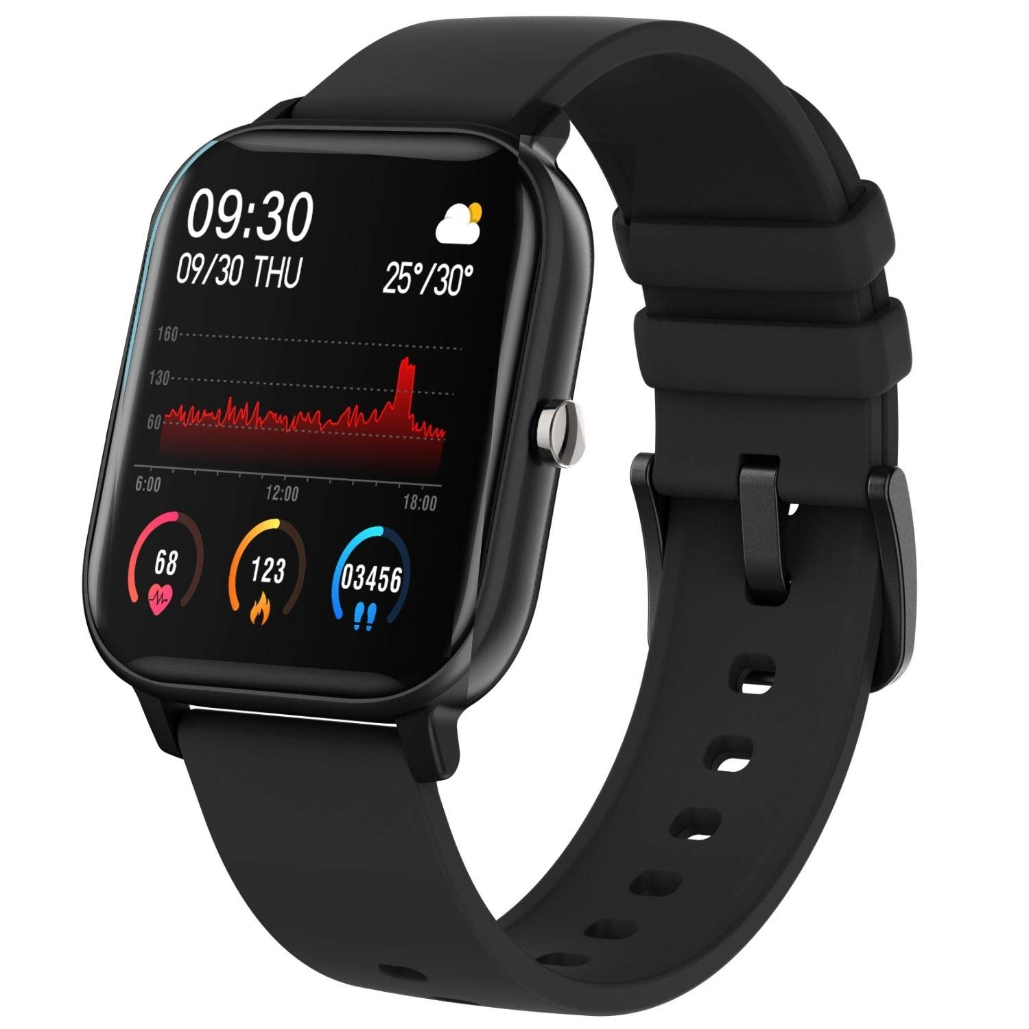 Fire-Boltt BSW001  Smart Watch - Full Touch 1.4 inch (Black)